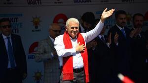 Başbakan Yıldırım: Yapmak için değil, yıkmak için destek istiyorlar