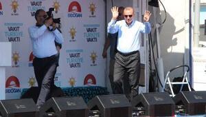 Cumhurbaşkanı Erdoğan: Şu anda Kandile biniyoruz