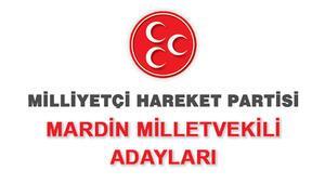 MHP Mardin Milletvekili Adayları kimler 2018 MHP Mardin Adayları