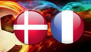 Danimarka Fransa maçı saat kaçta hangi kanalda canlı yayınlanacak