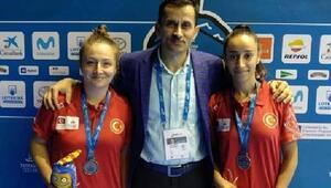 Badminton Türk Milli Takımı Akdenizde 4 madalya aldı
