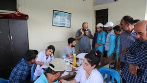 Haliliye Belediyesinde sağlık taraması