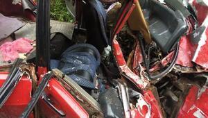 İkizderede kaza: 1 ölü 3 yaralı