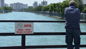 Uyarı levhalarına rağmen girdiği kanalda kayboldu