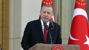 Cumhurbaşkanı Erdoğandan yeni sisteme geçiş sonrası ilk konuşma