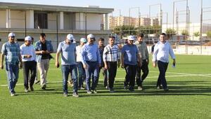 Şanlıurfaya futbol merkezi kuruluyor