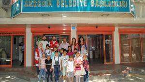 Suriyeli çocuklar Nasreddin Hoca Şenliğinde