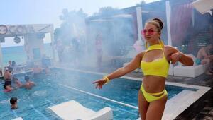 Havuz dans pistine dönüştürüldü
