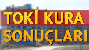 Manisa Yunusemre TOKİ kura sonuçları açıklandı mı