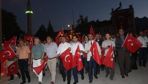 Seydişehirde 15 Temmuz Demokrasi ve Milli Birlik Günü etkinlikleri
