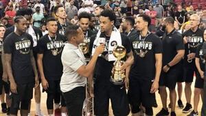 NBA Yaz Ligi Şampiyonu Portland Trail Blazers