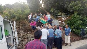 Bahçesini sularken fenalaşıp öldü