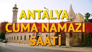 Antalya Cuma namazı saati Antalyada Cuma saat kaçta kılınacak