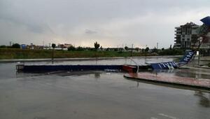 Kadirlide şiddetli yağış