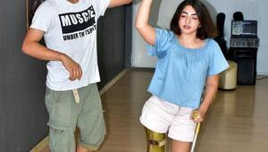 Engellilerin dans edemeyeceği yorumuna inat kursa başladı