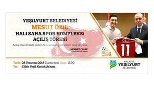 Malatya'dan Mesut Özil'e büyük jest