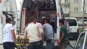 İnşaatta akıma kapılan işçi, ağır yaralandı