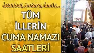 İstanbul cuma saati | Cuma namazı kaçta kılınacak