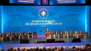 Erdoğan: 400 proje yeni dönemin ateşleyici gücü olacaktır(1)