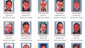 Kırmızı listeden 8 isim Hepsi öldürüldü