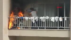 Bursada atılan sigara yangına sebep oldu