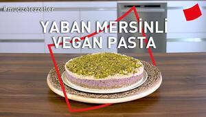 Yaban Mersinli Vegan Pasta   Mucize Lezzetler