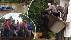Karadenizdeki sel felaketiyle ilgili son dakika gelişmesi: Hepsi kurtarıldı