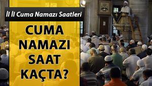 Bugün cuma namazı saat kaçta İstanbulda cuma namazı saati