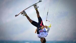 Akyakada Dünya Kiteboarding Şampiyonası heyecanı