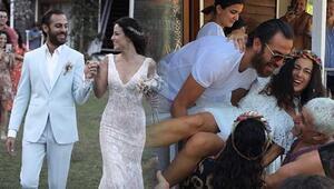 Düğünde neler yaşandı İşte yeni fotoğraflar