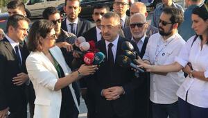 Cumhurbaşkanı Yardımcısı Oktaydan bayram namazı sonrası açıklama