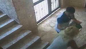 Rus uyruklu kadını biber gazıyla gasp etti