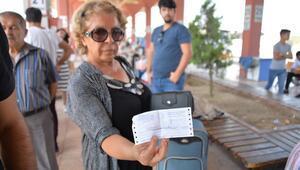 Firma kapandı Ankara yolcuları otogarda kaldı