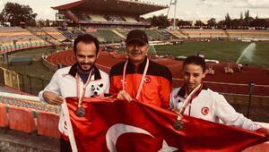 Büyükşehirin sporcusu Avrupa ikincisi
