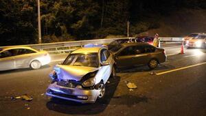 Boluda zincirleme kaza: 8 yaralı