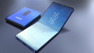 Samsungun katlanan telefonu Galaxy F sonunda geliyor