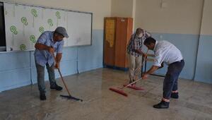 Siverekteki okullarda temizlik