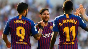 Barcelona, 3 dakikada Sociedadın fişini çekti