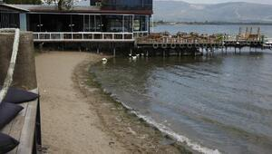 İznik Gölündeki çekilme mevsimsel