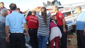Siverek'te kaza: 1 ölü