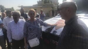 HDP eski milletvekili Ayhan'ın cenazesi Siverek'te