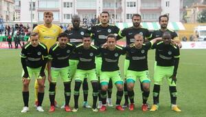 Yeni Amasyaspor - Atiker Konyaspor: 2-5 (Ziraat Türkiye Kupası)
