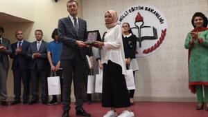 Bakan Selçuk, Cinnah Genç Yazarlar ödül törenine katıldı