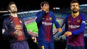 Barcelonada tartışmaların odak noktası Pique Bilbao maçında...