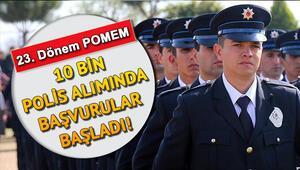 POMEM başvuruları başladı | 23. Dönem polis alımı başvuru şartları