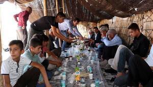 Şırnakta yaşlılar ile çocuklara piknik ve müzikli eğlence