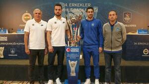Erkekler Cumhurbaşkanlığı Kupası basın toplantısı düzenlendi