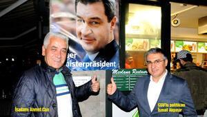 Türk lokantasındaBaşbakan posteri