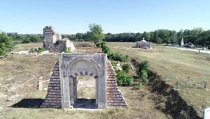 Edirne Sarayının kalbi Cihannüma Kasrı ayağa kaldırılıyor