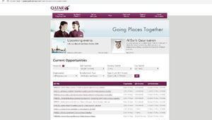 Katar Havayolları Türkiyede personel arıyor